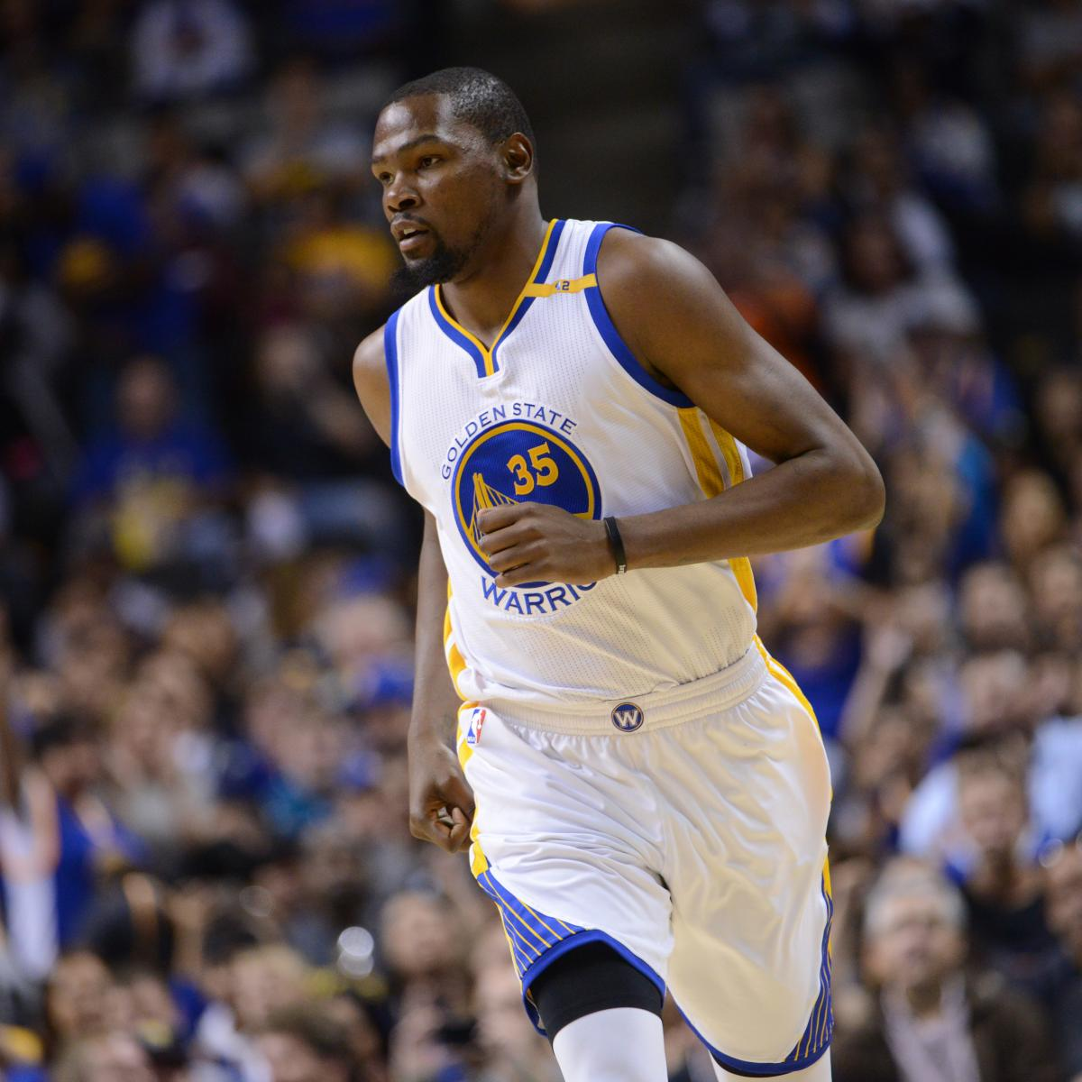 Kevin Durant Says He's 'Glad' Warriors Lost 2016 NBA