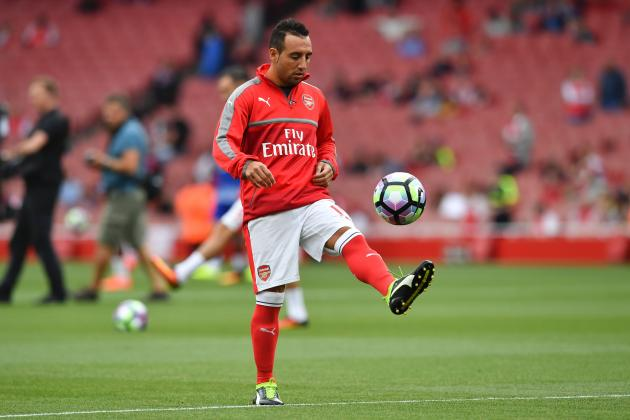 Image result for santi cazorla 2016/17