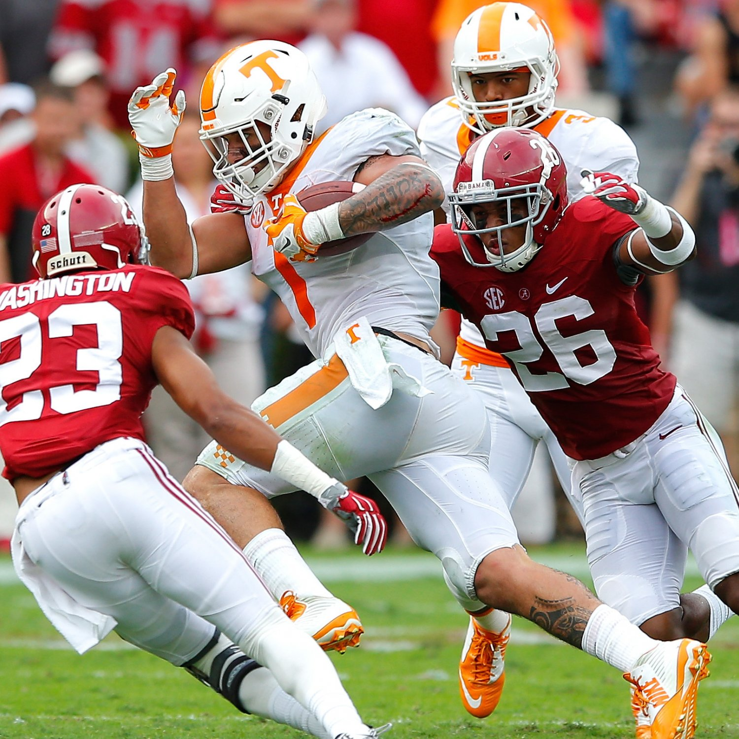 Alabama vs. Tennessee: Live Score, Highlights for Crimson ...