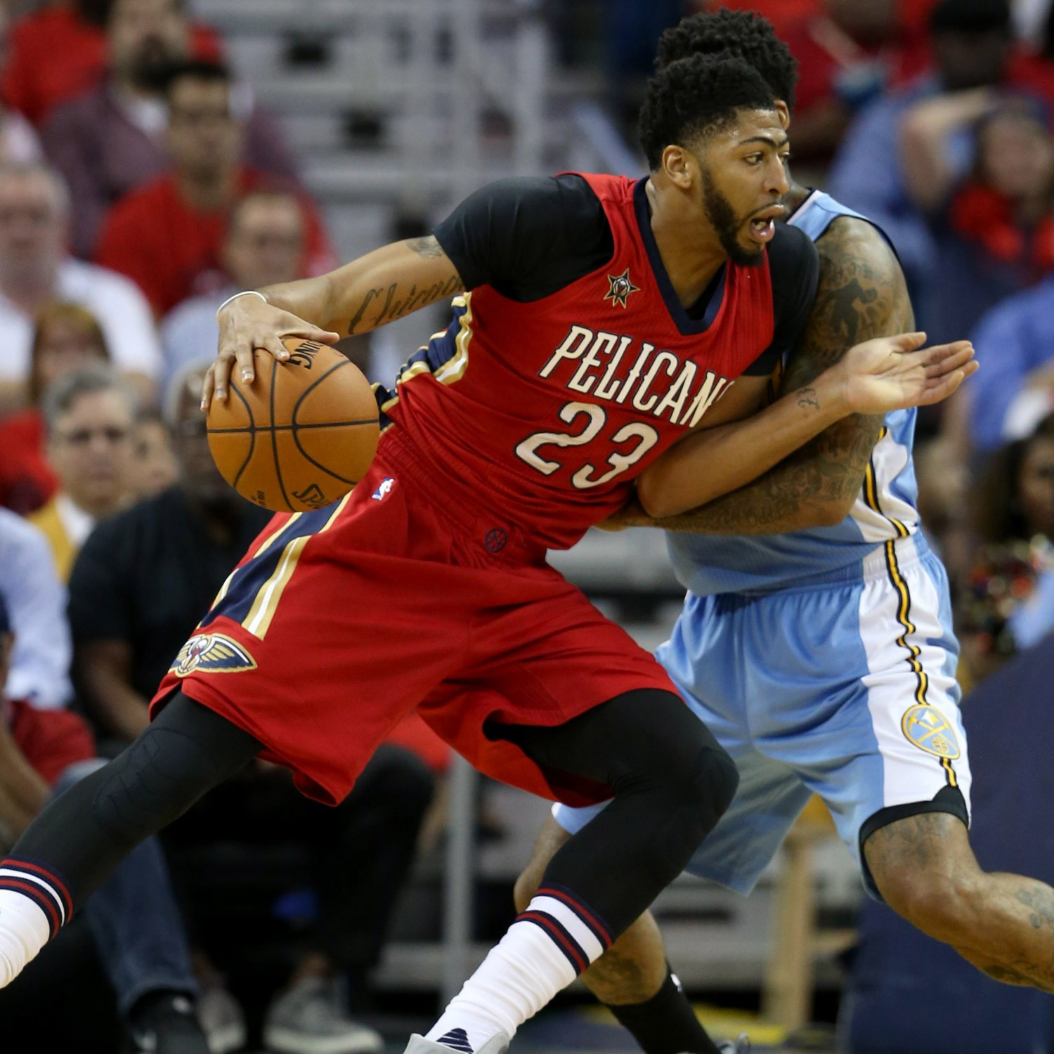 Anthony Davis Vs. Nuggets: Stats, Highlights And Twitter