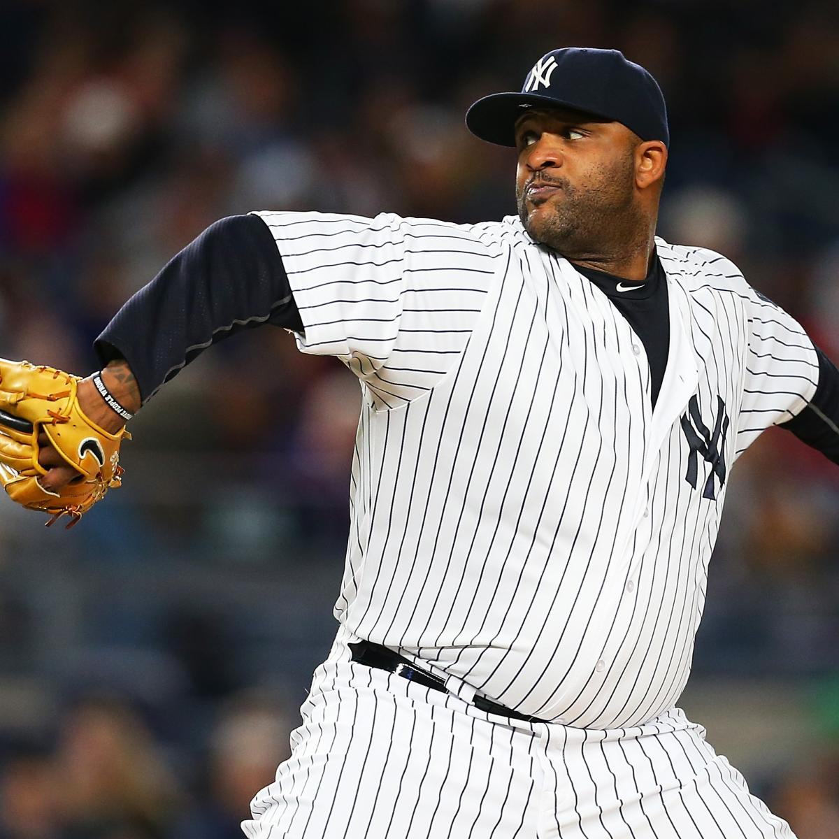 CC Sabathia, Yankees Reportedly Agree to 1-Year, $8M Contract