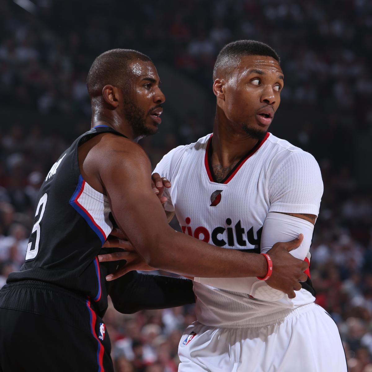 Portland Blazers Defensive Rating: LA Clippers Vs. Portland Trail Blazers: Live Score