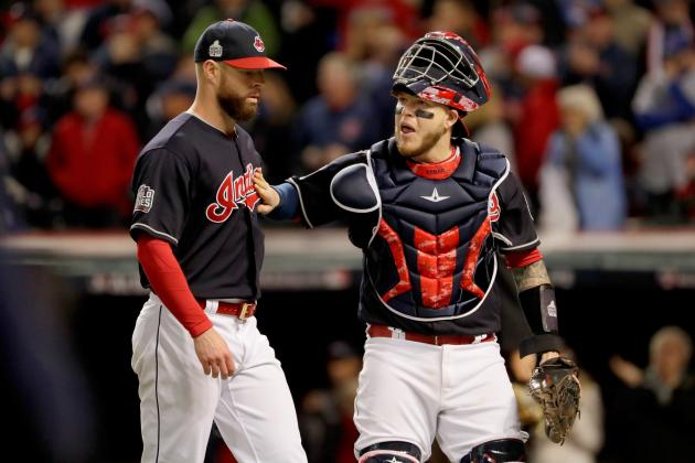 perez roberto cubs score indians series game highlights palsy getty overcame unlikely become hero cleveland squire jamie bells stats