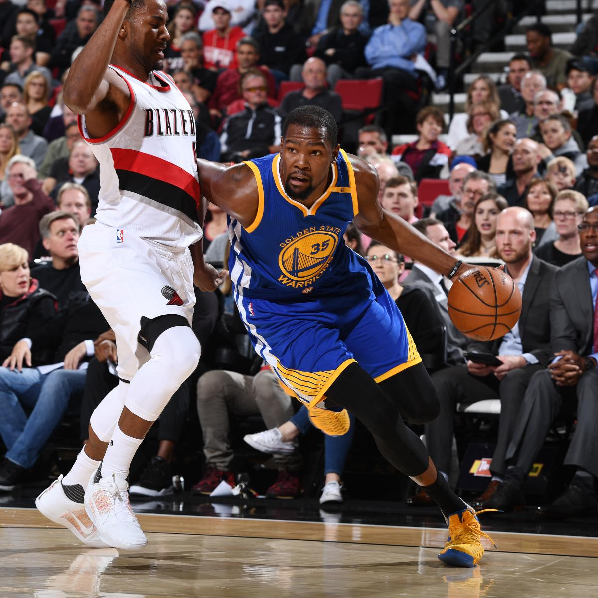 Portland Blazers Schedule: Warriors Vs. Trail Blazers: Score, Highlights, Reaction