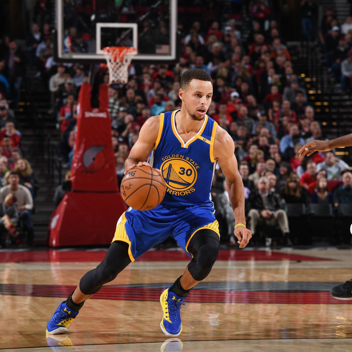 Blazers Home Court Advantage: Tuesday NBA Roundup: Stephen Curry Masking Golden State