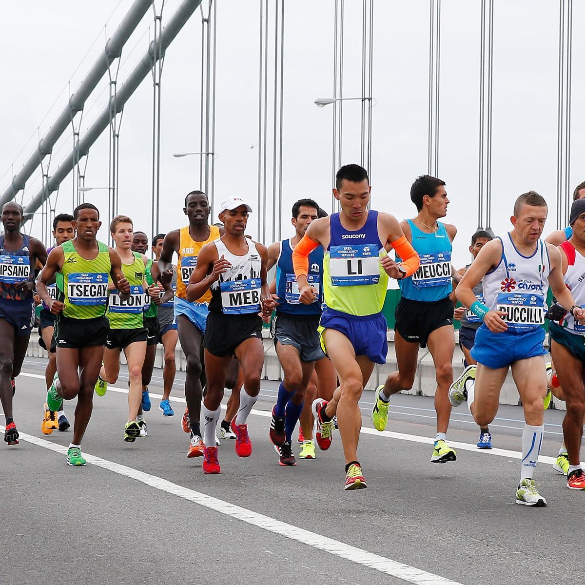 New York Marathon  Route Course Map Times Road Closures - Nyc marathon course map pdf