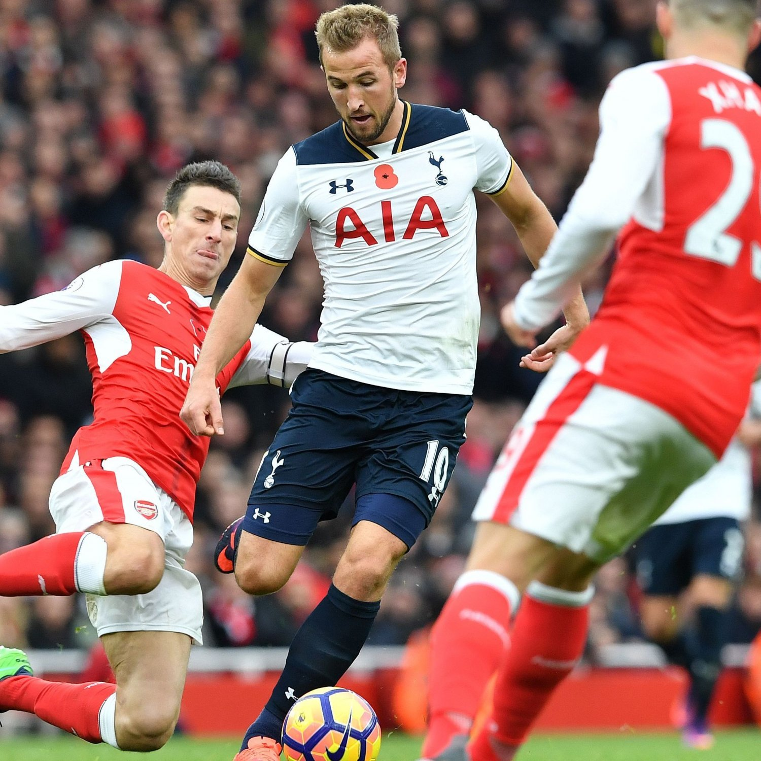 Chelsea Vs Tottenham Score Reaction From 2016 Premier: Arsenal Vs. Tottenham: Score And Reaction From 2016
