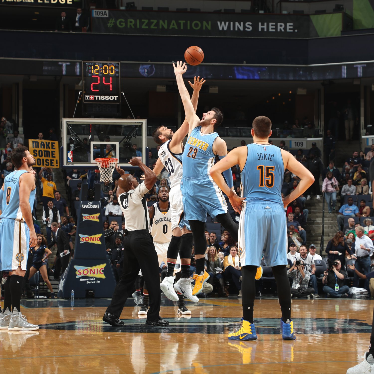 Nuggets File Protest With NBA Over 1-Point Loss To