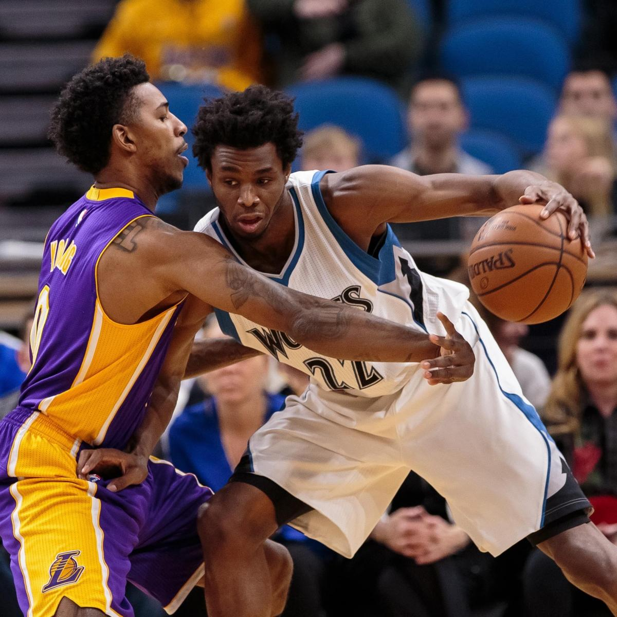 Andrew Wiggins vs. Lakers: Stats, Highlights and Twitter ...