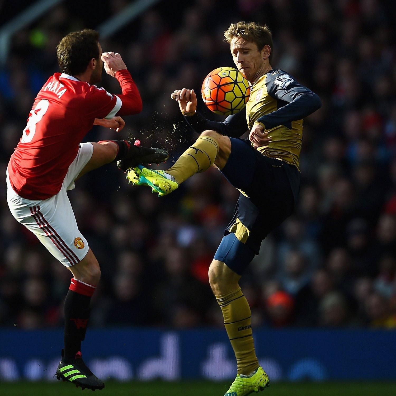 Arsenal Vs Tottenham Live Score Highlights From Premier: Manchester United Vs. Arsenal: Live Score, Highlights From