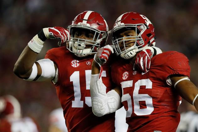 Alabama's Defense Has No Peer in College Football
