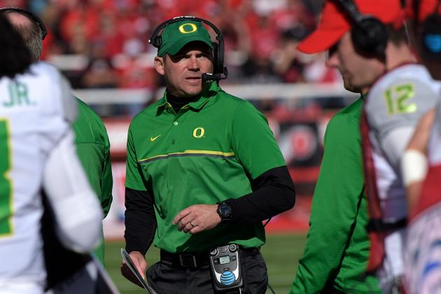 The Ducks never allowed fewer than 26 points in a game this year, even surrendering 28 at home to UC-Davis