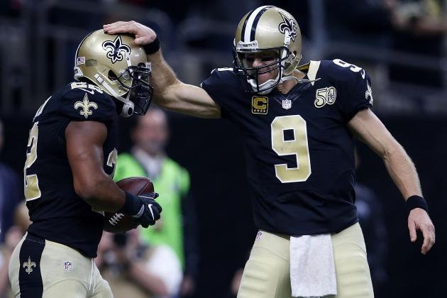 Saints Embarrass Rams, Keep Playoff Push Alive with Offensive Fireworks