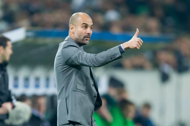 Pep Guardiola Up to the Manchester City Challenge with Tactical Flexibility