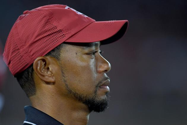 There's No Fanfare, Excitement or Hope as Tiger Woods Finally Returns to Golf