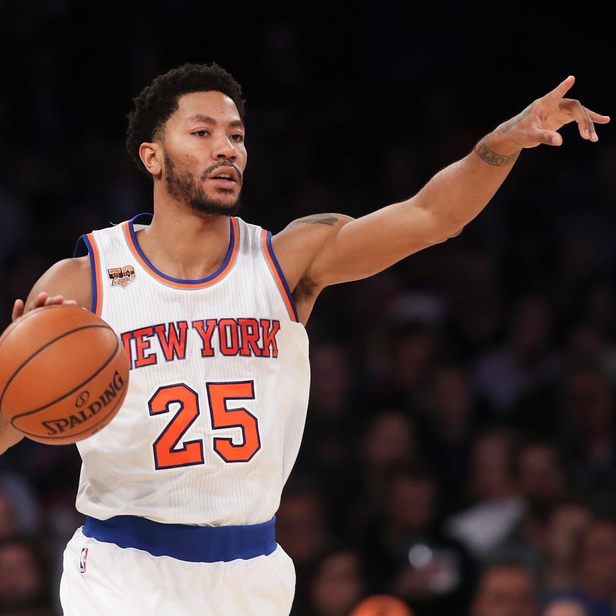 Derrick Rose Contract: Latest News, Rumors on Negotiations ...