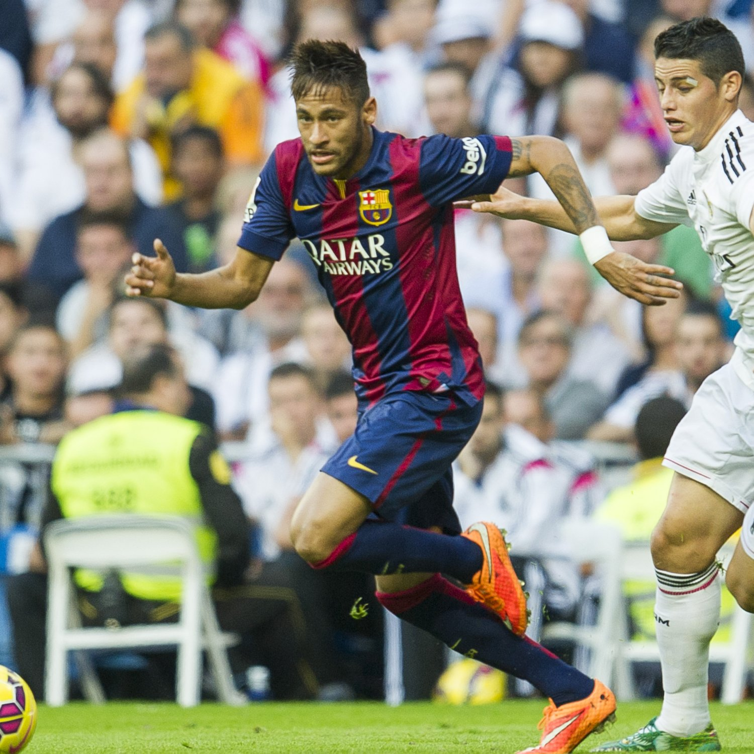 Neymar, James and the Clasico Rivalry That Never Materialised