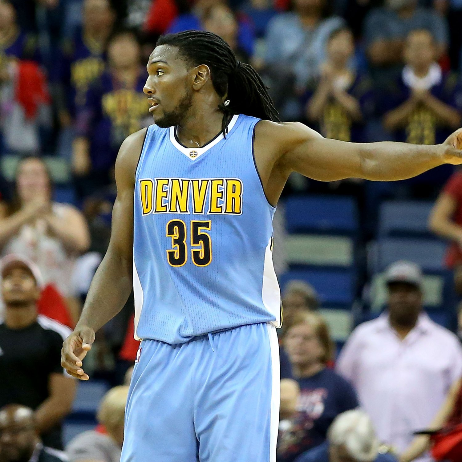 Nuggets Injury Report: Kenneth Faried Injury: Nuggets PF Ruled Out Vs. Spurs With