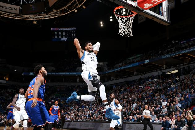 Karl Anthony-Towns vs  Knicks: Stats, Highlights and Twitter