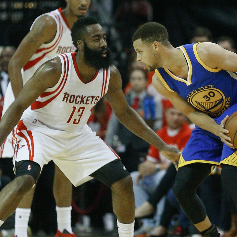 Houston Rockets Vs. Golden State Warriors: Live Score