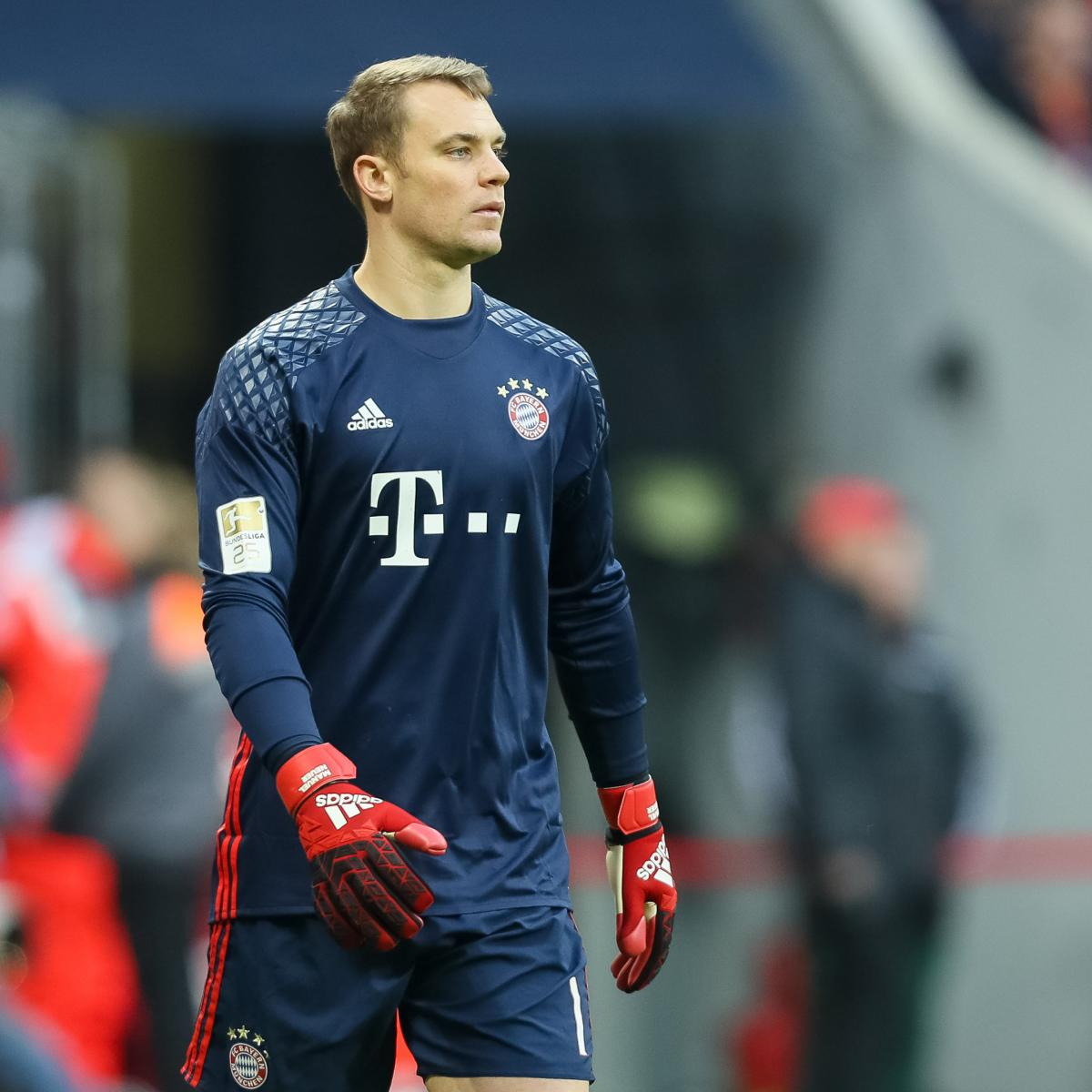 manuel neuer gives bayern munich edge in arsenal champions. Black Bedroom Furniture Sets. Home Design Ideas