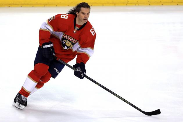Jaromir Jagr Ties Mark Messier for 2nd-Most Points in NHL History