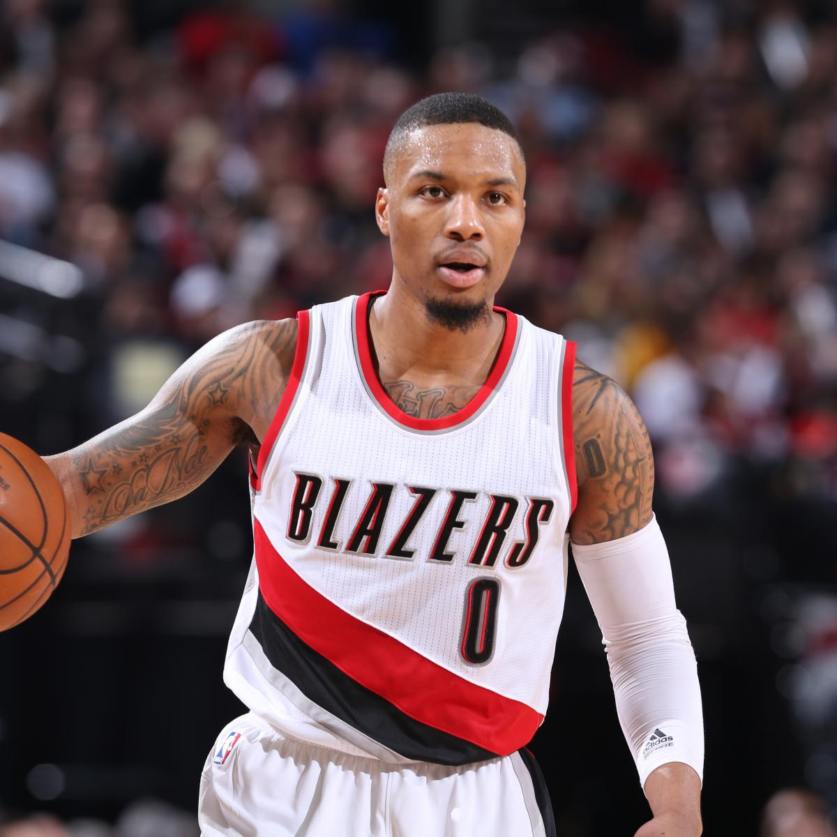 Portland Blazers Game: Damian Lillard Injury: Updates On Trail Blazers Star's