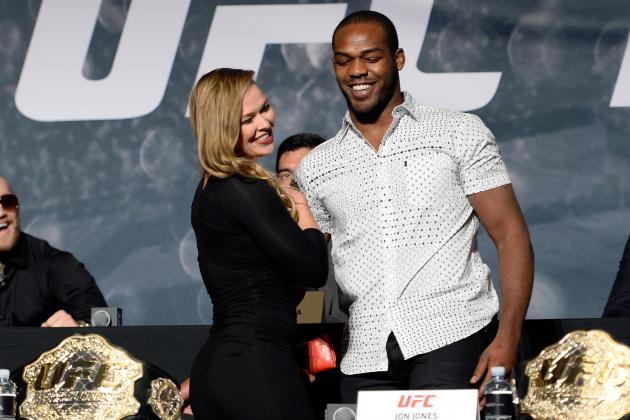 Jon Jones, Demetrious Johnson Agree: Ronda Rousey Should Return to the UFC