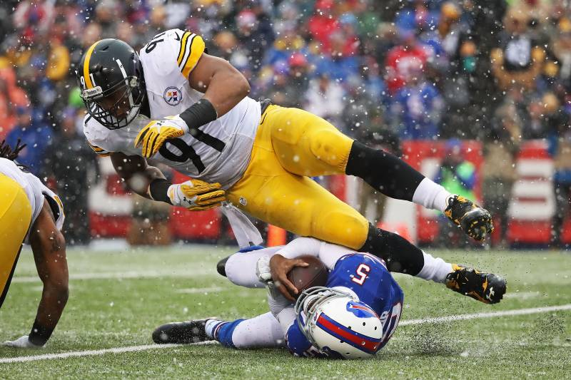 Stephon Tuitt, Tyrod Taylor, Steelers 2017 Draft Needs Defensive line