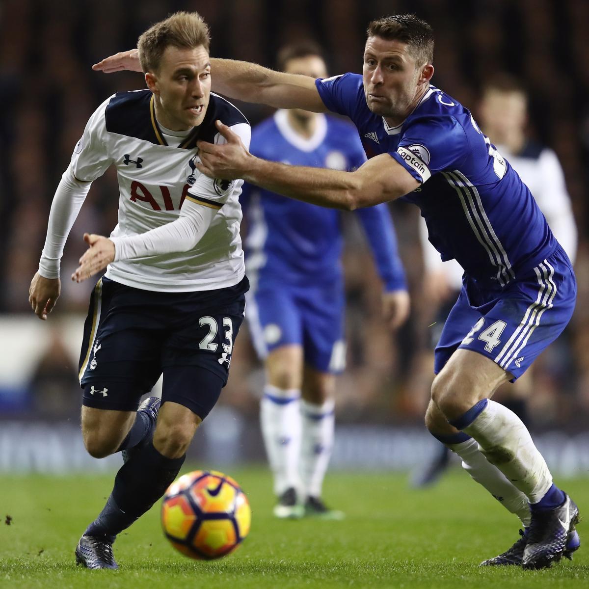 Tottenham Vs Ajax Tickets Away End: Tottenham Vs. Chelsea: Live Score, Highlights From Premier