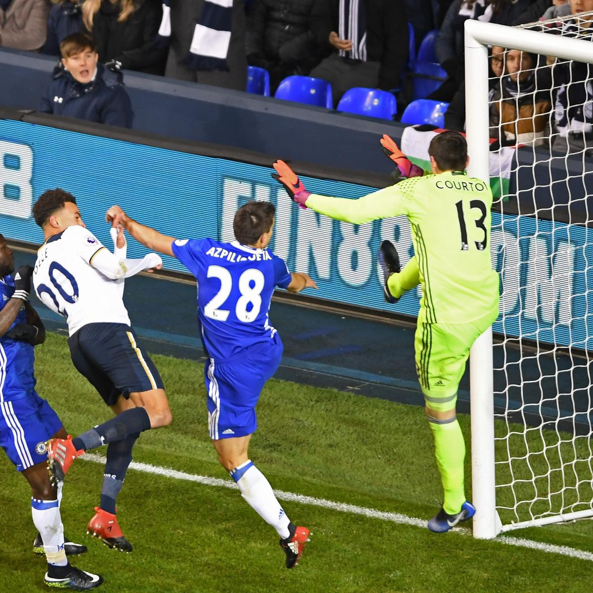 Chelsea Vs Tottenham Score Reaction From 2016 Premier: Tottenham Vs. Chelsea: Score And Reaction From 2017