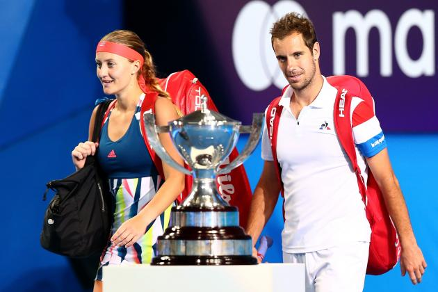 Hopman Cup 2017 Results: France vs. United States Score and Reaction