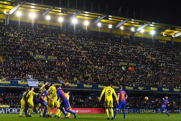 Image result for villarreal vs barcelona