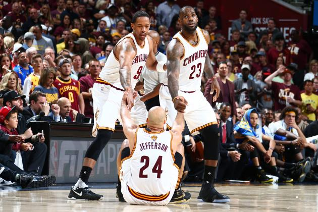 How LeBron James, Cleveland Cavaliers Fell in Love with the NBA's Old Dudes