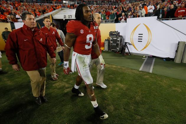Bo Scarbrough Injury Update: Alabama RB Suffered Lower-Leg Fracture vs. Clemson