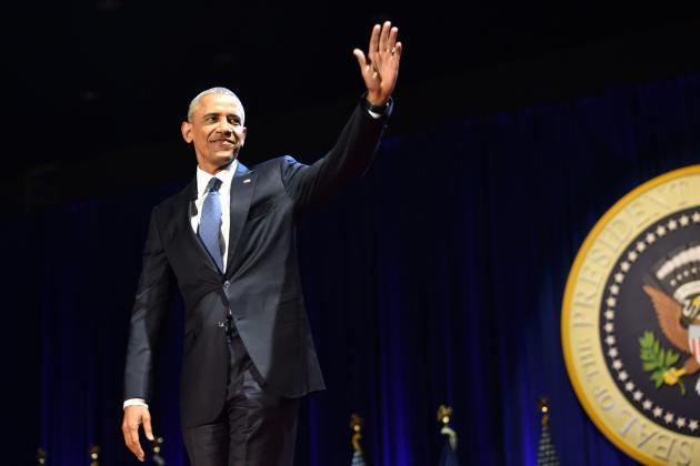 Athletes Honor President Barack Obama on Night of Farewell Address