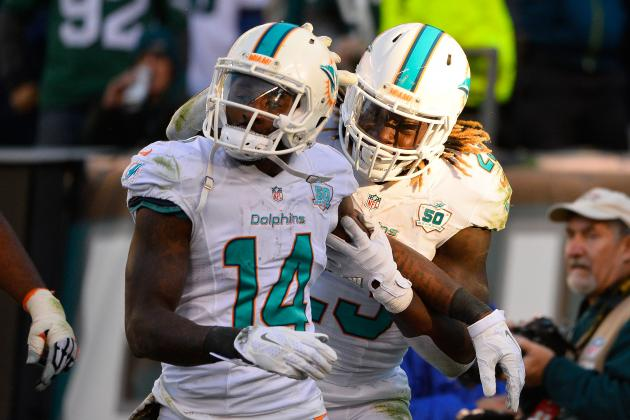 Jay Ajayi, Jarvis Landry Named to AFC's Pro Bowl 2017 Roster