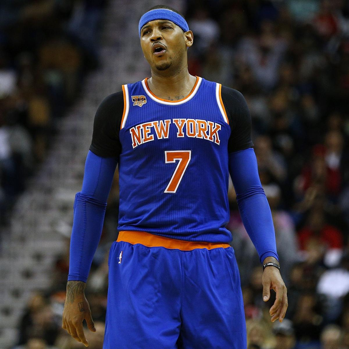 Carmelo Anthony Trade Rumors: Latest News, Speculation ...