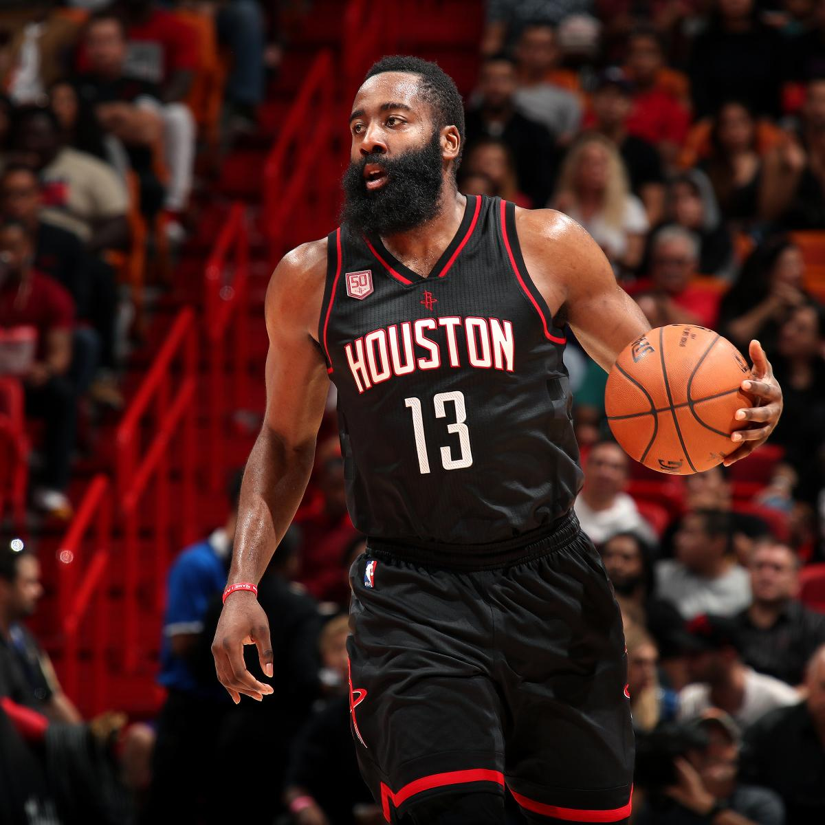 James Harden Injury Report: James Harden Posted League-Leading 4th 40-Point Triple