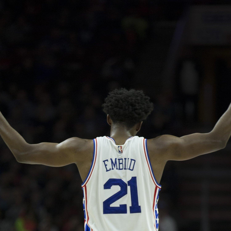 Stream Nascar Free >> Joel Embiid Encourages 'Trust the Process' Chants During Raptors-76ers Game | Bleacher Report