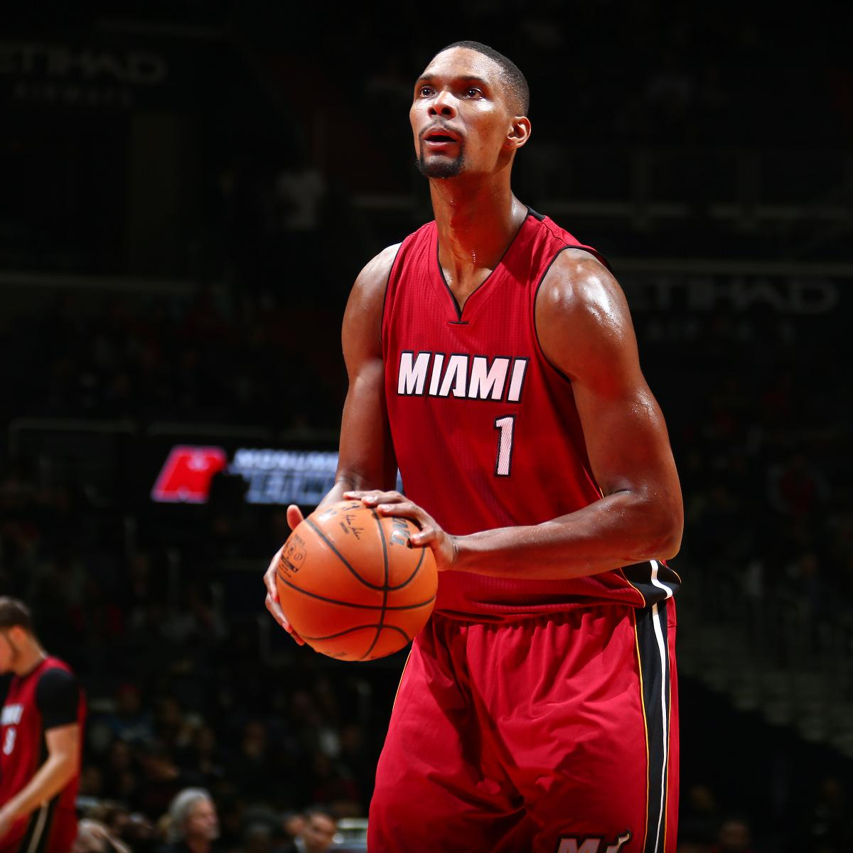 Miami heat updated news - Chris Bosh Latest News Rumors Speculation On Heat Pf S Future Bleacher Report