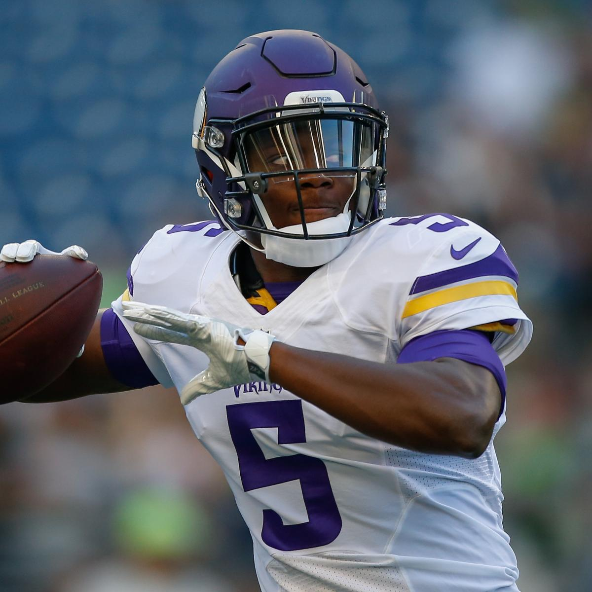 Teddy bridgewater injury update vikings expect qb to miss 2017 too report says sporting news - Teddy Bridgewater Injury Updates On Vikings Qb S Recovery From Knee Surgery Bleacher Report