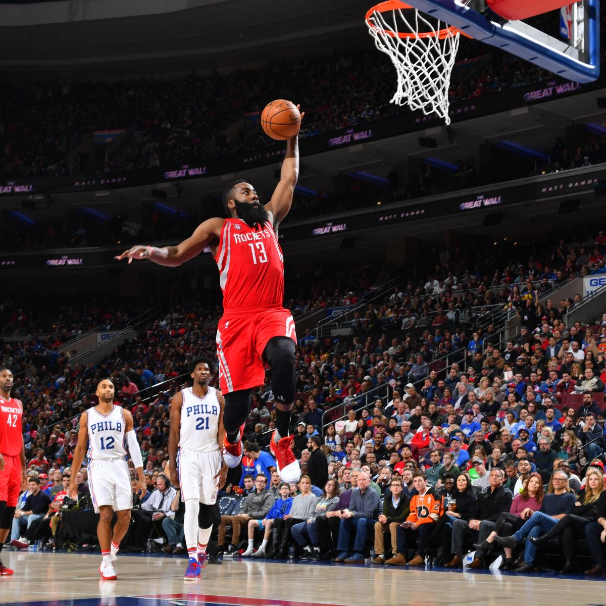 James Harden Yearly Stats: James Harden Vs. 76ers: Stats, Highlights, Twitter