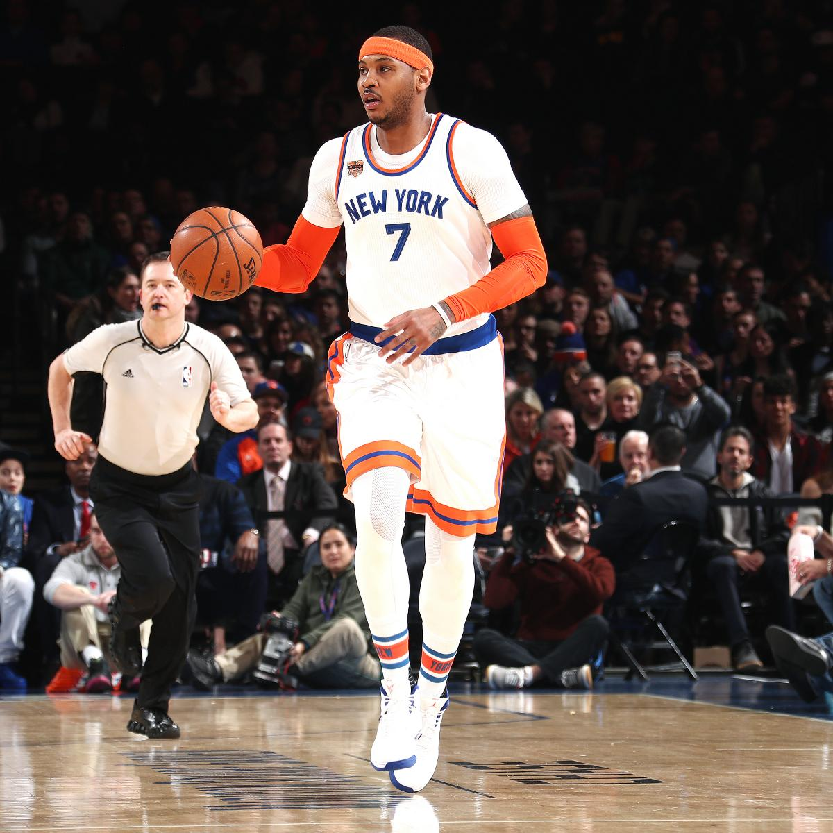 Carmelo Anthony Discusses Trade Rumors, Being Booed by ...