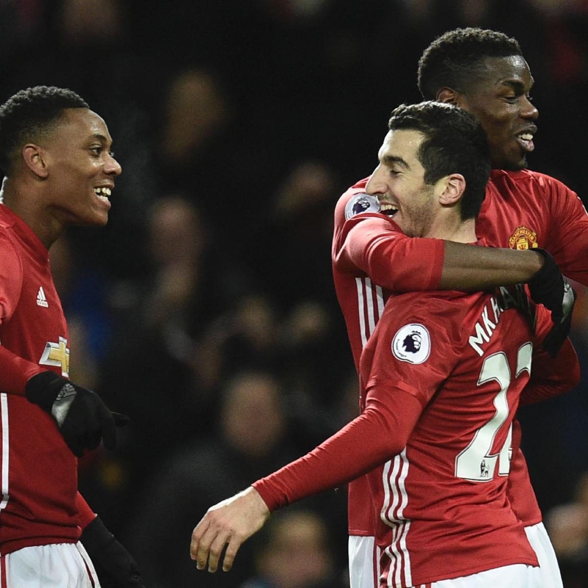 Manchester United S Anthony Martial Talks Debut Goal Vs: Jose Mourinho Compares Anthony Martial, Henrikh Mkhitaryan
