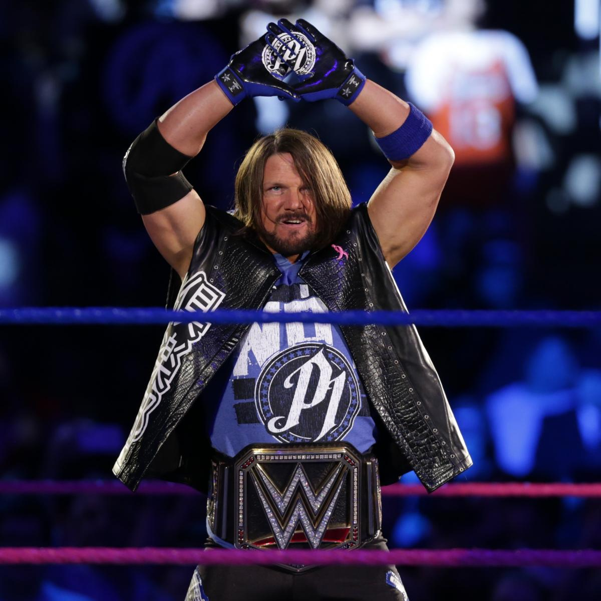 AJ Styles Must Regain WWE Championship At WWE Elimination