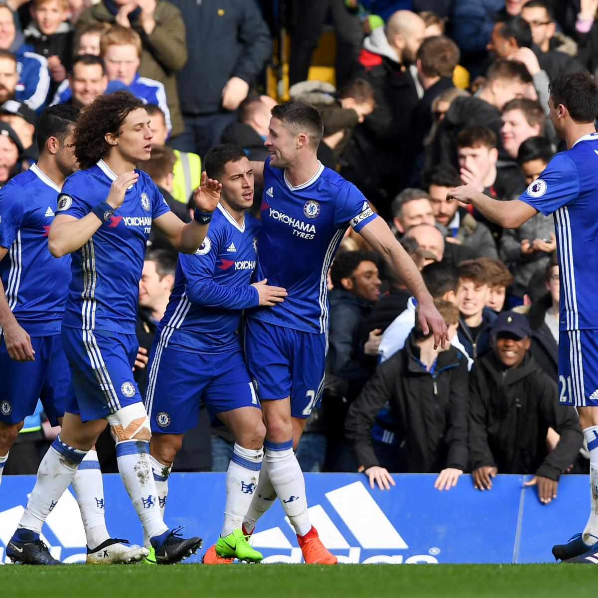 Chelsea Vs Tottenham Score Reaction From 2016 Premier: Chelsea Vs. Arsenal: Score And Reaction From 2017 Premier