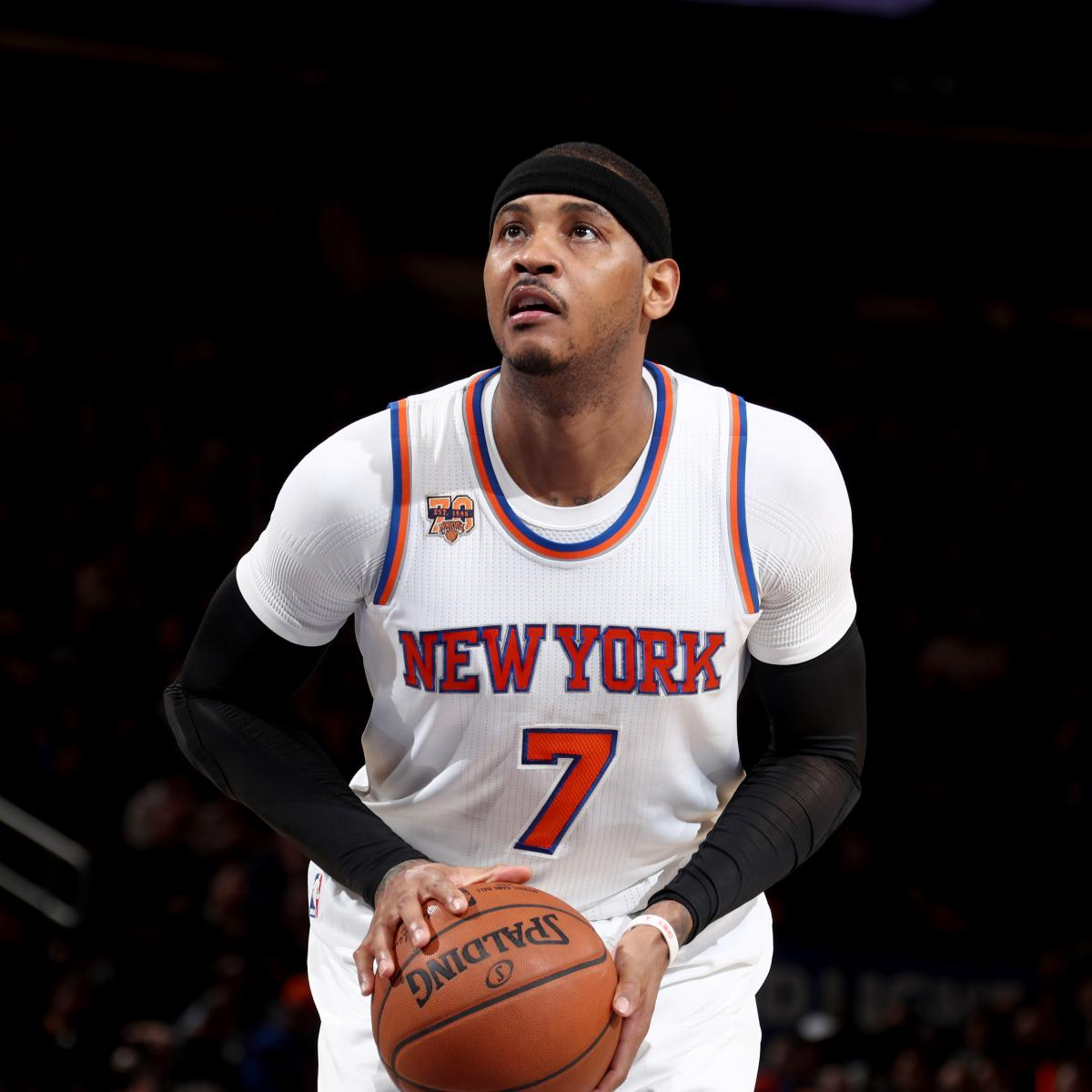 Carmelo Anthony Says Trade Rumors, Knicks Losing Are ...