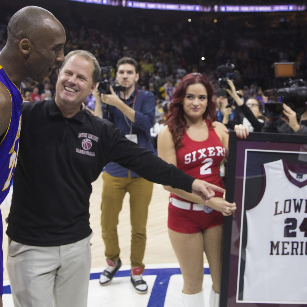 Kobe Bryant Memorabilia Stolen From Lower Merion High
