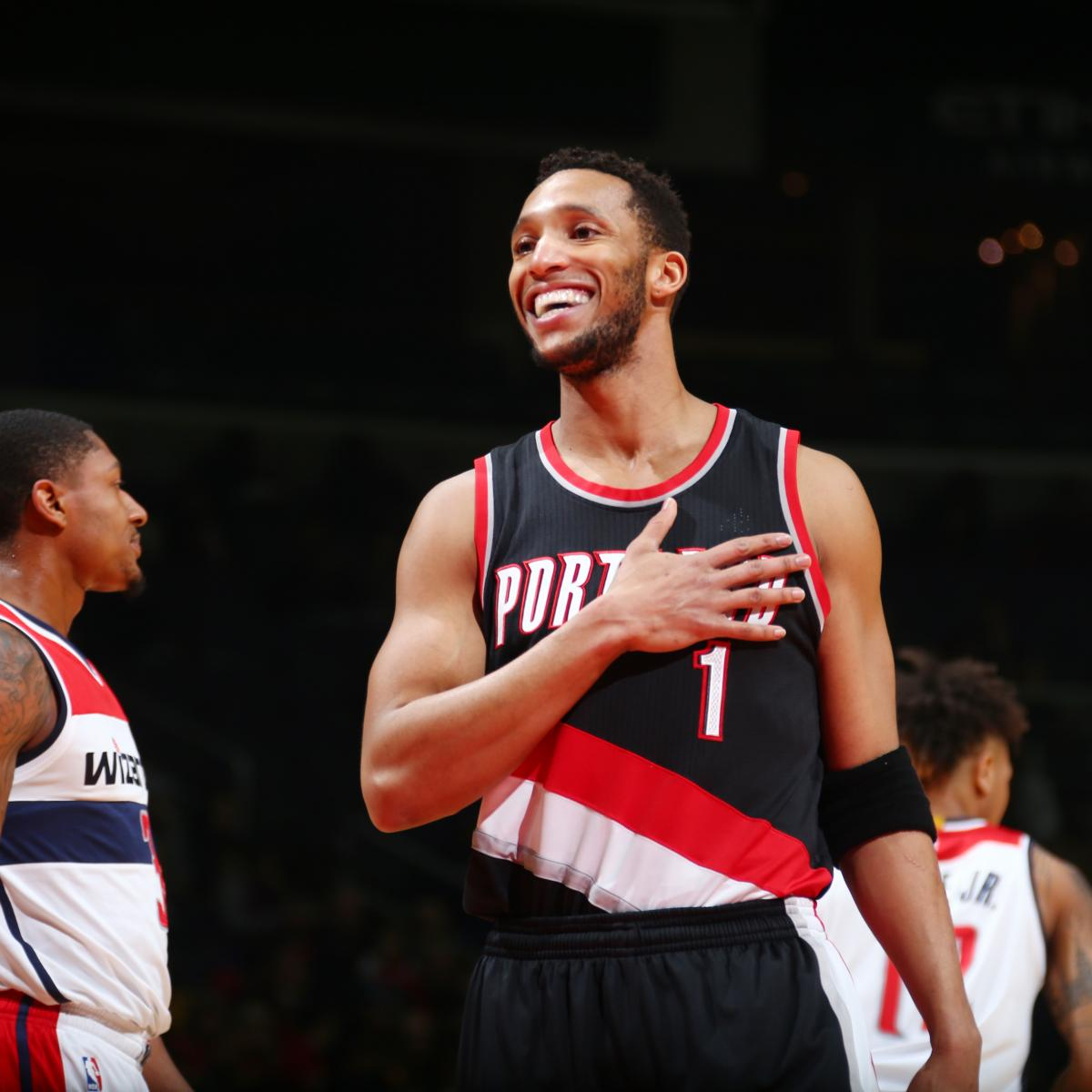 Evan Turner Injury: Updates On Trail Blazers SF'S Hand And
